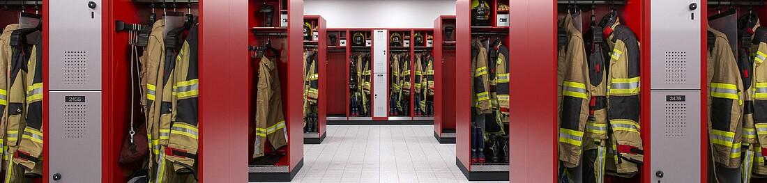 Firefighter Lockers C P Mobelsysteme